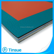 pvc plastic sports court flooring for volleyball court