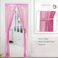 Hands-Free Magic Mesh Screen Door Magnetic Anti Mosquito Bug Doors Curtain bathroom shower curtain home decor