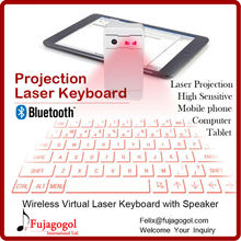 bluetooth speaker feature virtual projector wireless infrared laser keyboard