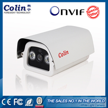 Colin 1.0 Megapixel Low Lux night vision Network Bullet 720P p2p home guard wireless going security ip camera