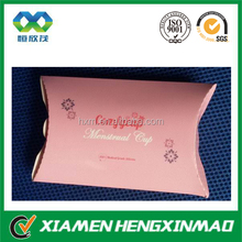 Pink paper candy bag glossy pillow candy paper gift bag