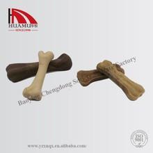 pet bone in brown 100*28 mm