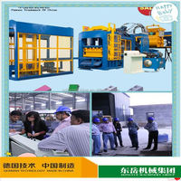 QT4-15 used concrete saws price in india brick block machine