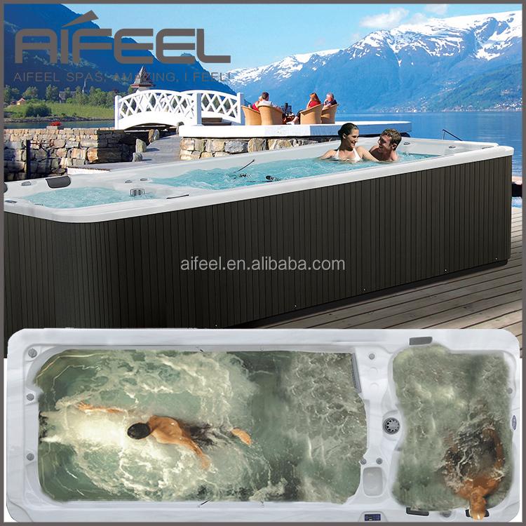 European style luxury balboa system portable acrylic for Luxury above ground pools