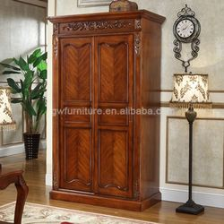 antique solid teak wood wardrobe