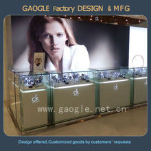 French style furniture glass display cabinet for jewelry shop