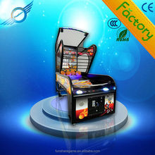 2014 New Coin Operated coin operated street basketball game machine basketball hoop machine