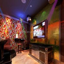 Fire resistant Decorative 3D wall panels
