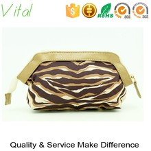 PU canvas make up bags and cases made in China