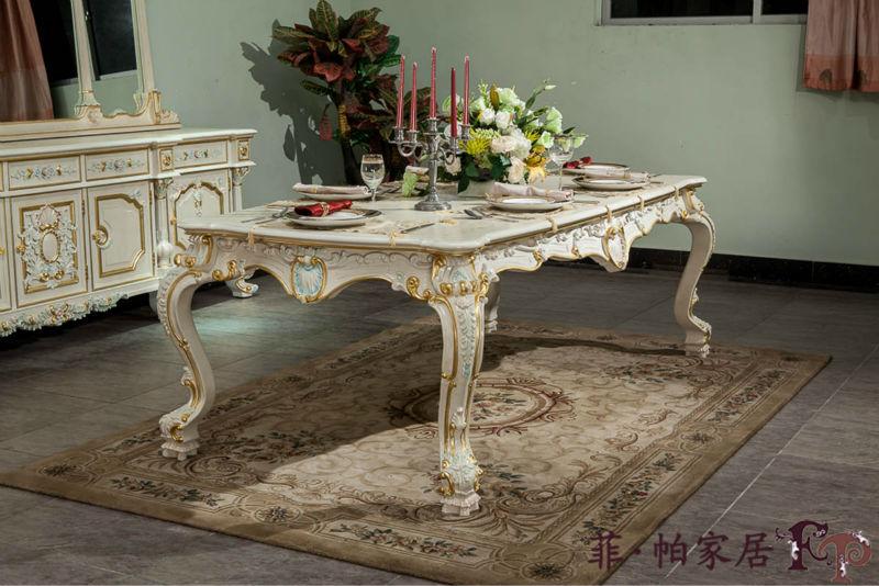 Mobili in stile europeo paese francese mobili in stile sala da pranzo tavolo in legno id - Mobili in stile francese ...