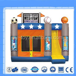 Inflatable sport bounce,inflatable bouncy castle,mini house for sale
