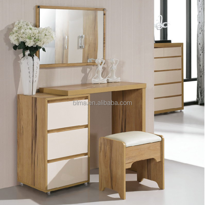 Wooden dressing table with modern designs view