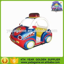 Hot sale coin operated dynamic and energy mini police car kiddie ride