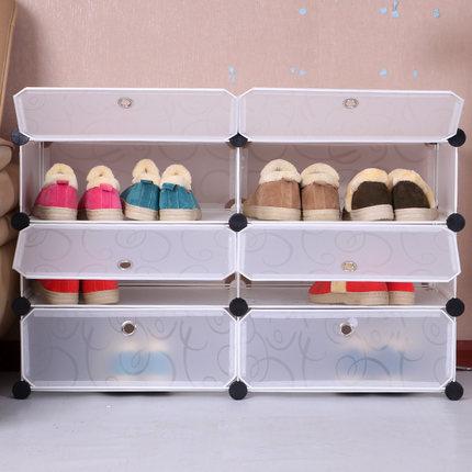 Adaptacube DIY shoe organizer kids toy storage shelf 6 ...