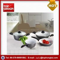 New Product 6PCS Aluminum Prestige Nonstick Cookware Set