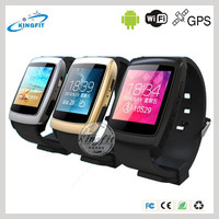 New fitness fashion smart watch, GPS cell phone watch, hot amdroid bluetooth watch 4.0