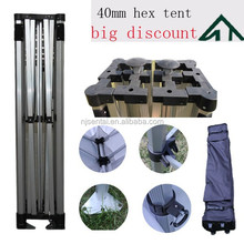 3x3m 10'x10' Gazebo Sentai Brand Chinese Manufacturer Shelter 40mm Hex Alum Professional Folding Tent with Big Discount