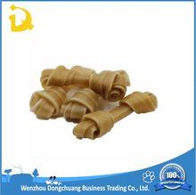 competitive price hot selling natural rawhide knotted bones dog chew