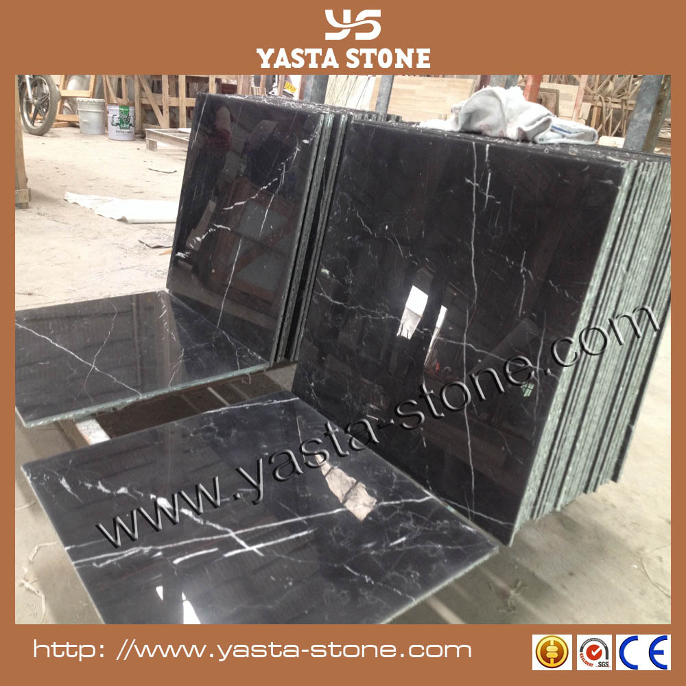 Cheap Black Marquina Marble 12mm High Gloss Laminate