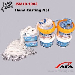 Popular American nylon monofilament cast fishing net for catching fish