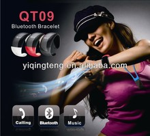 2014 Top design bluetooth bracelet speaker for phone