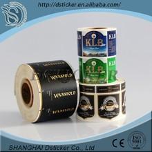 Roll/sheet custom blank semi gloss paper wine label sticker,dot sticker clear,clear epoxy stickers