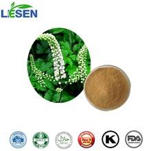 100% Natural Black Cohosh P.E. Powder with 2.5% 5% 8% Triterpenoid Saponins