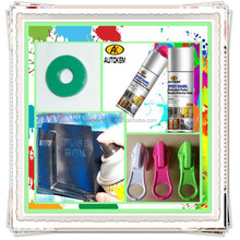 Autokem best seller epoxy enamel spray paint, epoxy coatings, bright/shiny mirror effect spray paint