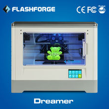 Flashforge dual extruder Dreamer WIFI connection companies manufacturing 3d printers