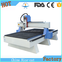 NC-R1325 4 axis cnc wood router cylinder processing with high accuracy