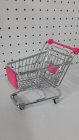 Online retail Children Supermarket metal cart kids shopping toy trolley
