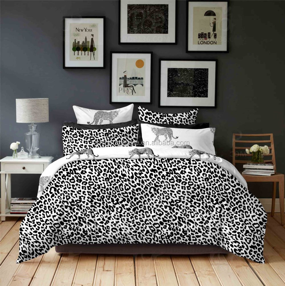 couette leopard. Black Bedroom Furniture Sets. Home Design Ideas