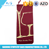 Non Woven Single Bottle Wine Tote Bag