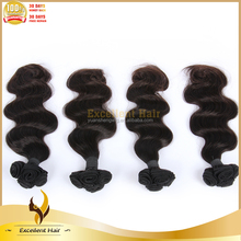 7A++ Grade 100% Human Hair 100g/pc Double Drawn Tangle Free Brazilian Hair Weaving Weft