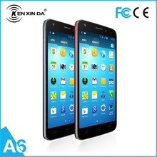 big cell phone manufacturer kenxinda A6 Quad core wholesale smart phone in china dual sim 3g cell phone
