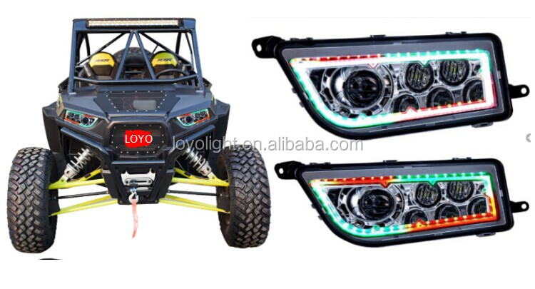 Most Popular Color Changning ATV Headlight