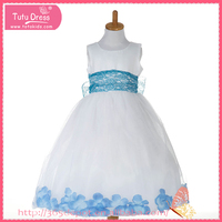 Kids party wear dresses for girls, flower dresses for girl of 1-13 years old