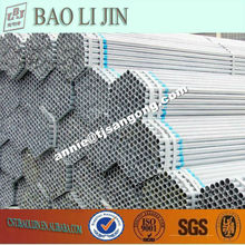 Tianjin Factory supply galvanized tube, galvanized iron pipe price, galvanized pipe price
