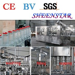 SHEENSTAR glass bottle filling and capping machine
