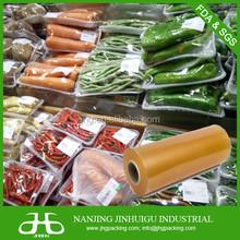 Food Grade PVC Cling Film Meat Wrapper