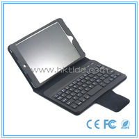China high quality best selling bluetooth keyboard leather case for 7inch tablet pc