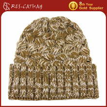 2015 hot style new design winter knitted hat