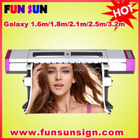 GALAXY UD-181LC eco solvent digital printer (with one dx5 head , 1800mm)