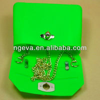 Nice Colorful Silicone Mobile Phone Shoulder Bag