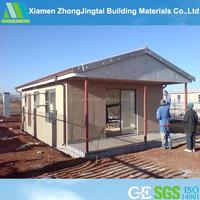 Light steel framing wooden houses modular floor plans