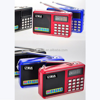 Portable more than 20 hours mini cube Speaker with fm radio