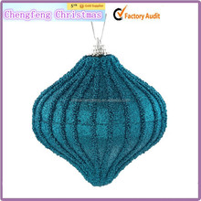 hot sale high christmas tree hanging white feather balls