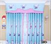 cute cat curtain fabric blackout