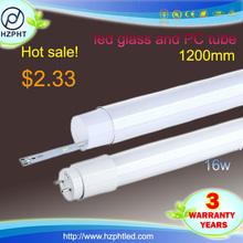 New product 1.5m tuv led tube 4000k 5 years warranty rotatable end caps led tube