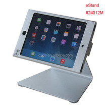 tablet anti-theft stand for mini iPad desktop security kiosk lock metal frame holder